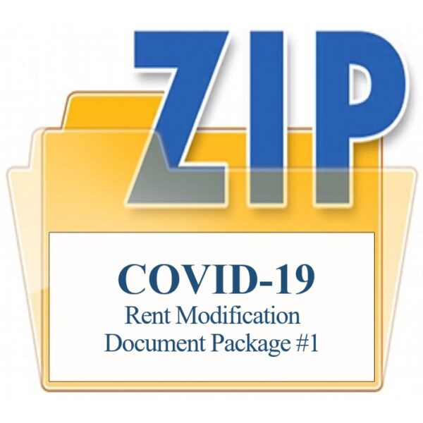 COVID-19 Survival Guide Rent Modification Document Package 1