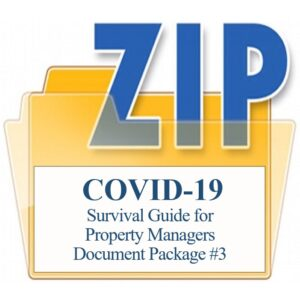 Survival Guide for Property Managers Document Package #3