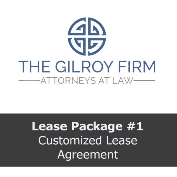 Lease Package #1: Customized Lease Agreement