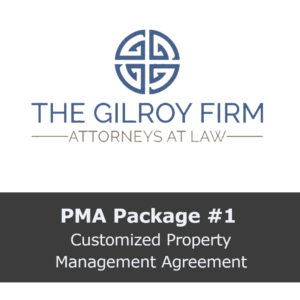 PMA Package #1: Customized Property Management Agreement