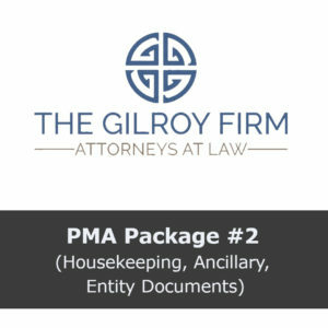 PMA Package #2 (Housekeeping, Ancillary, Entity Documents)